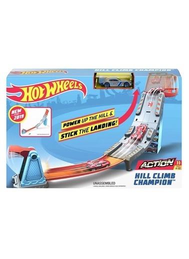 Hot Wheels Hot Wheels şampiyonluk Parkuru Yarış Seti GBF81-GBF83 Renkli